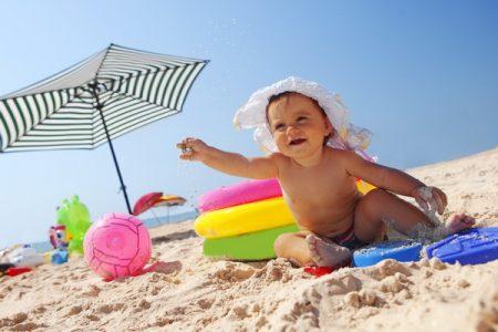 Vacanta de vara cu bebe